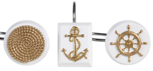 Sailing Bath Shower Hooks SAL83