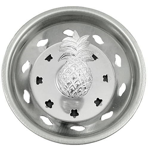 Pineapple Kitchen Sink Strainer - Stainless Steel