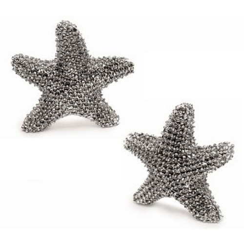 Starfish Salt & Pepper Shaker Set - Metal - 10350