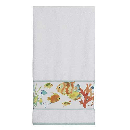 Embroidered 100% Cotton Rainbow Bath Towel TP1073BMULT