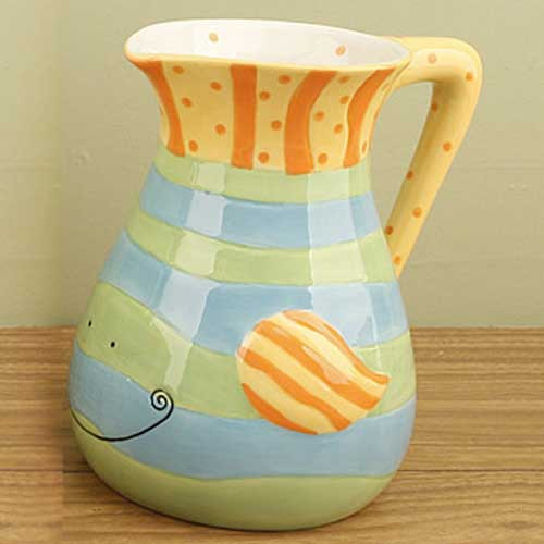 Ceramic Fish Water Pitcher 12318