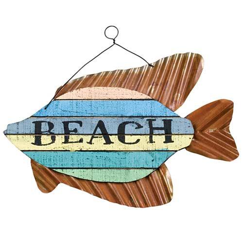 "Vintage Style Tin Sign /""Seaside Sammys/"" 32314A"