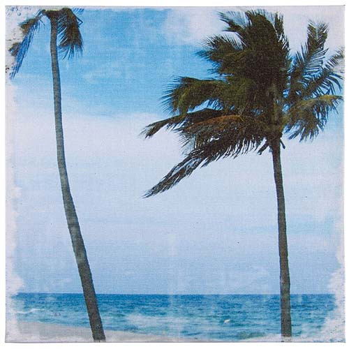 Canvas Art - Palm Tree Wall Decor 71172C