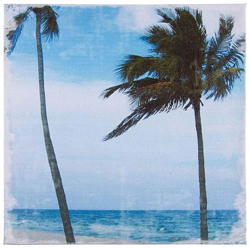Canvas Art - Palm Tree Wall Decor 71172C