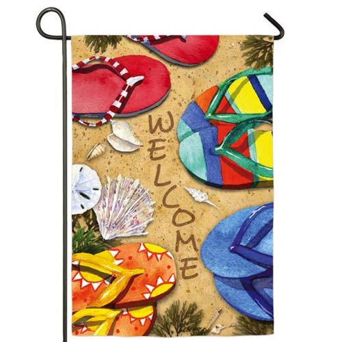 Love Flip Flops Garden Flag 14S3315