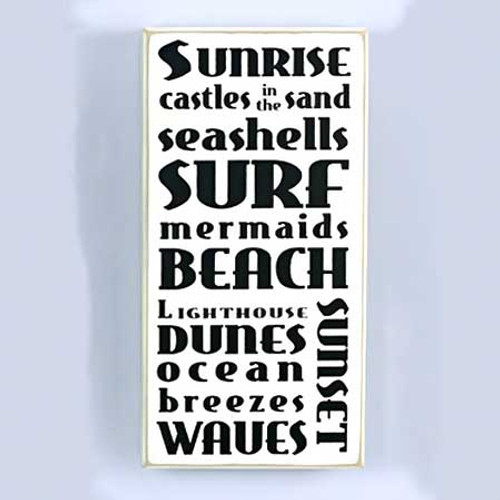 Sunrise Surf Beach Wall Plaque 13142