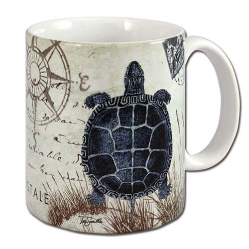 Sea Turtle Blue Nautical Coffee 11 oz Mug - 60021