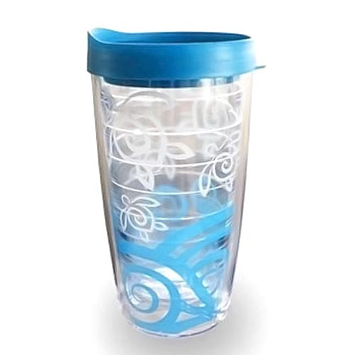 Sea Turtle Insulated Plastic Tumbler Double Wall with Lid