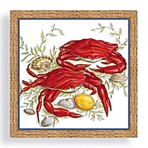 Red Crab Lobster Paper Dinner Napkins