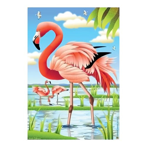 Flamingo Beauty Garden Flag - JFL166