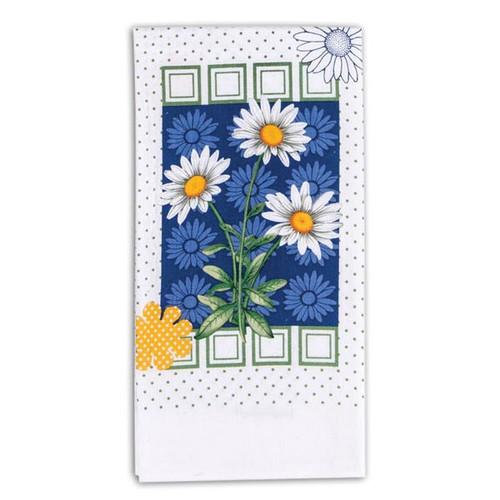 Summer Daisy Krinkle Flour Sack Towel R6613