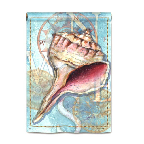 "Shell Treasure - House Standard Flag - 28"" x 40"" - 94490"