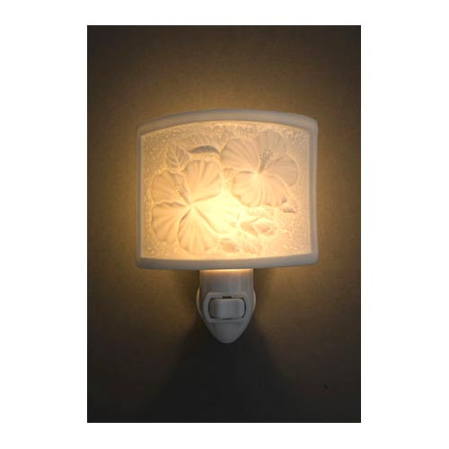 Tropical Hibiscus Night Light 93101000