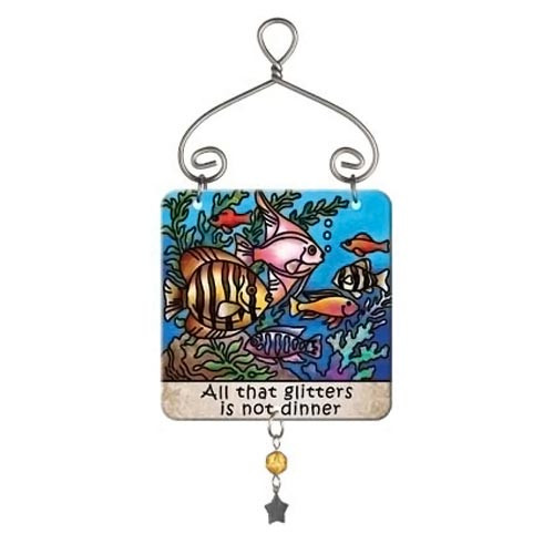 Tropical Fish Mini Sun Jewel Suncatcher JSW232R