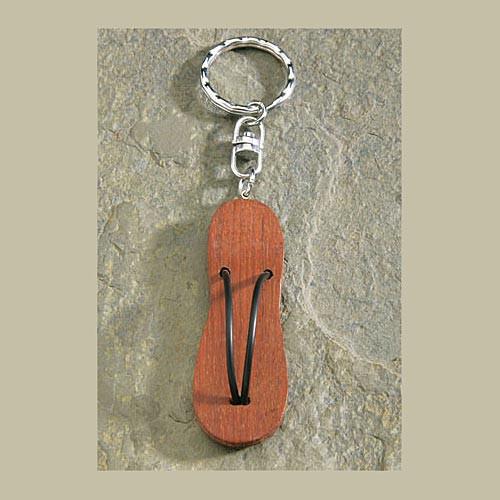 Flip Flop Wooden Keychain - 9874572000