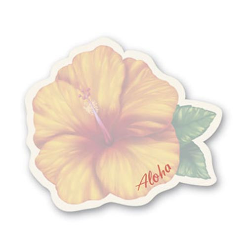 Hibiscus Shaped Sticky Notes 26403000