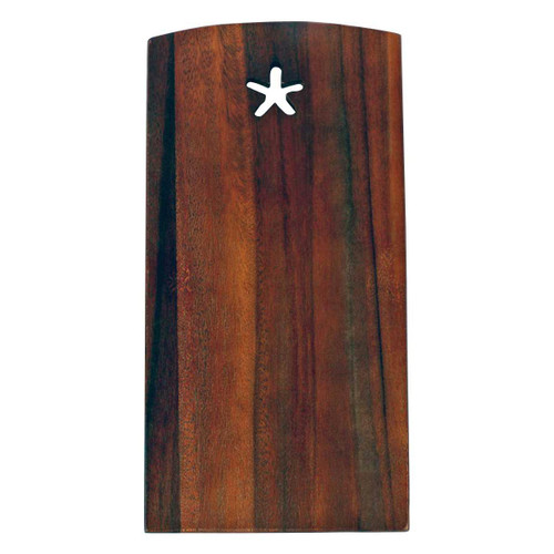 Starfish Acaia Wood 11x6 Cutting Board - 20326-S