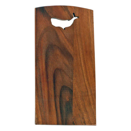 Whale Acaia Wood 11x6 Cutting Board - 20326-W