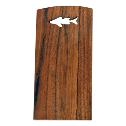 Tropical Fish Acaia Wood 11x6 Cutting Board - 20326-F