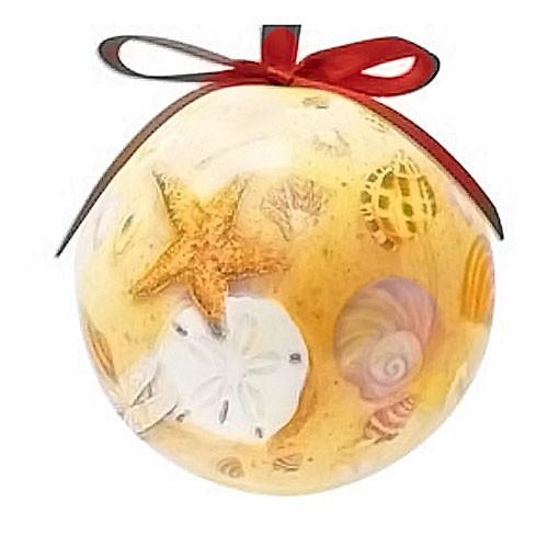 Ornament Ball Sea Shells 857-13