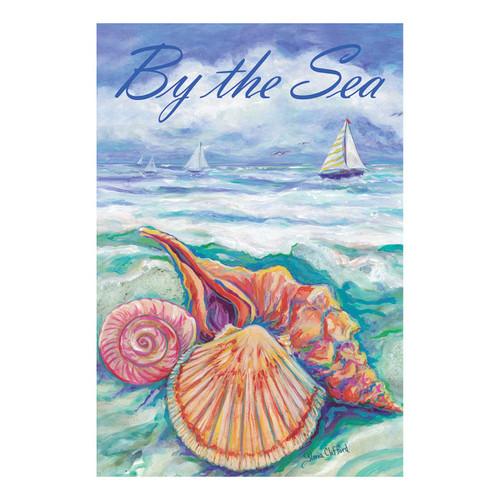Sandy Shells By the Sea GARDEN Flag - 1110062