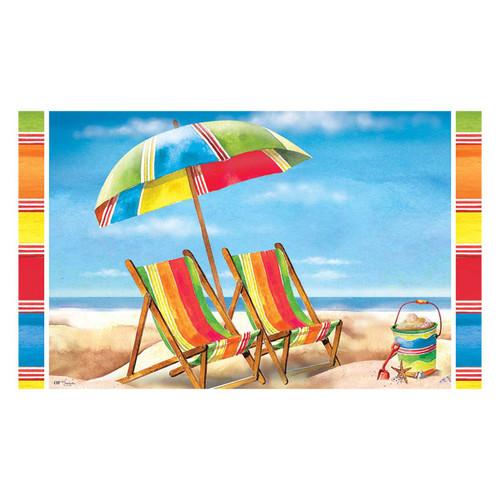 Paradise Beach Chair Floor Mat 2353M