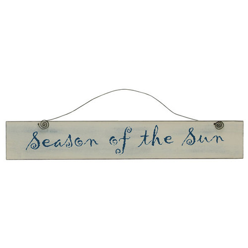 Wooden Sign Season of the Sun 19301