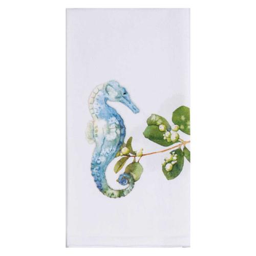 SeaHorse Ocean Tide Krinkle Cotton Towel A8524