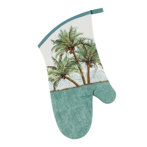 Palm Trees Coconuts Oven Mitt - R3045