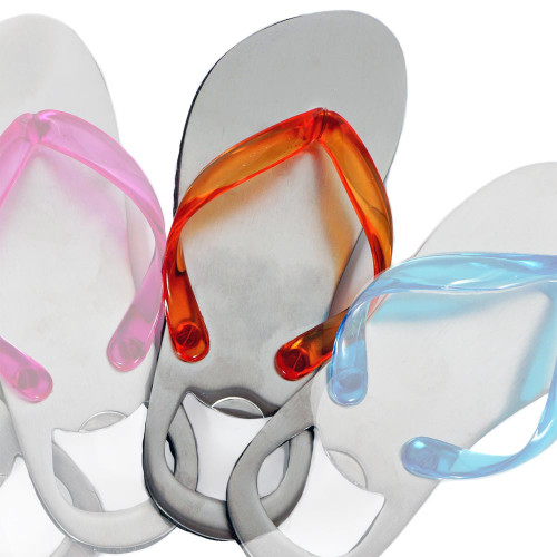 Bottle Opener Flip Flop Fun Orange 60448or