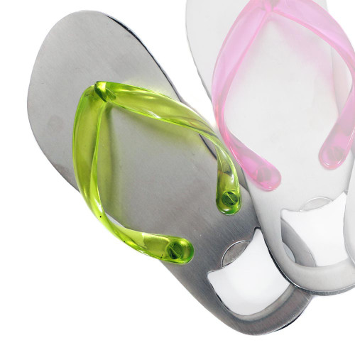 Bottle Opener Flip Flop Fun Green 60448G