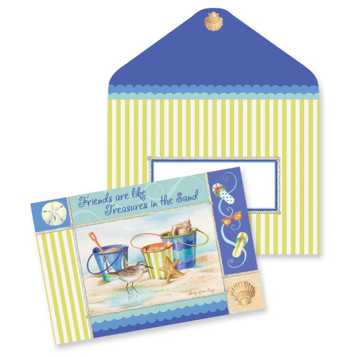 Beach Friends Note Cards 10 Pack 09-023