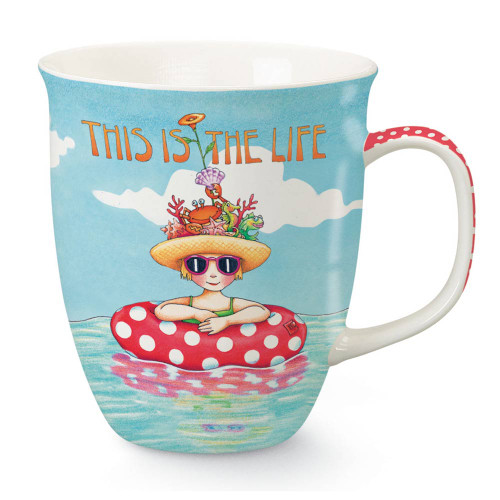 Relaxing Life Ocean Mary Vacation This is the Life Coffee Mug 718-23