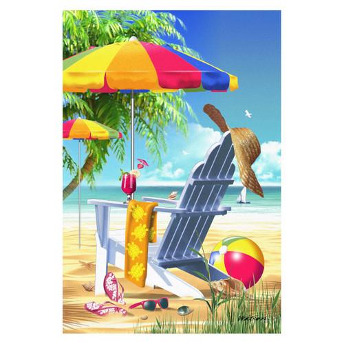 Lazy Beach Days GARDEN Flag - 1110402