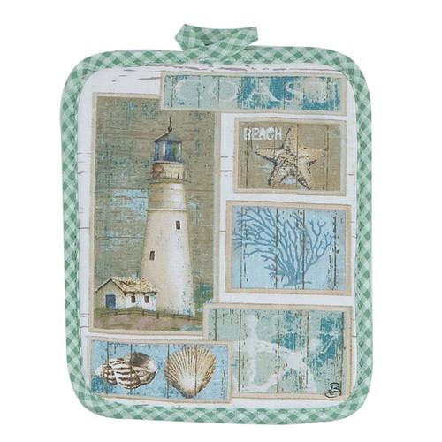Lighthouse Theme Pot Holder - R2352
