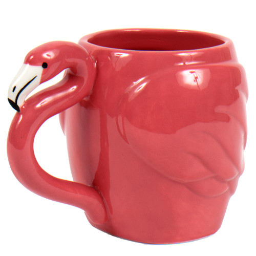 Pink Flamingo Ceramic  14 oz Mug - 60030