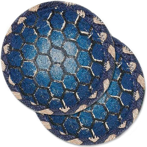 """Turtle Shell Table Coaster - SET OF TWO - 5"""" - H-005-5"""