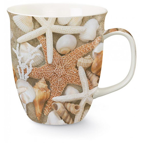 Tropical Sea Shells Starfish Coffee Mug 718-74