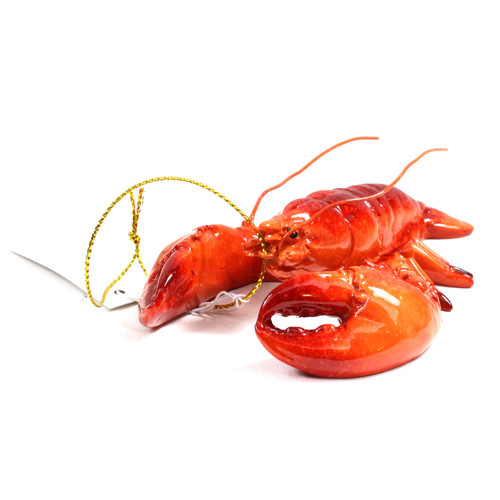Red Lobster Ornament X381A