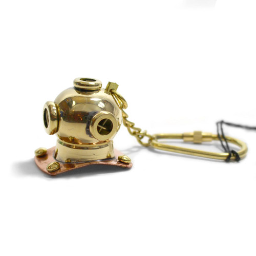Diving Helmet Keychain - Museum Gift Shop