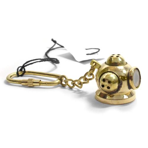 Diving Helmet Keychain - Museum Gift Shop