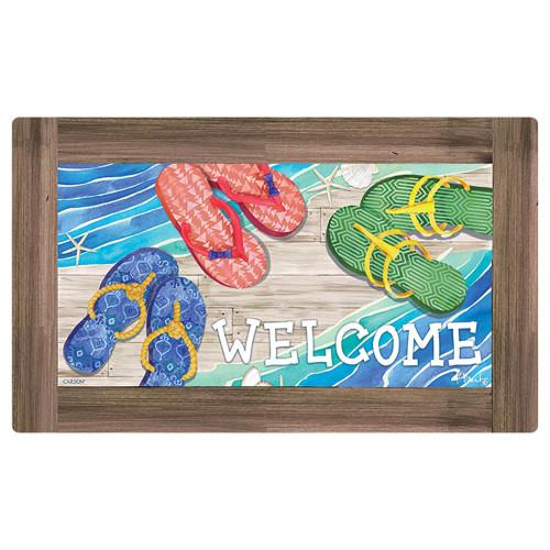 Flip Flop Welcome Floor Mat - 42004