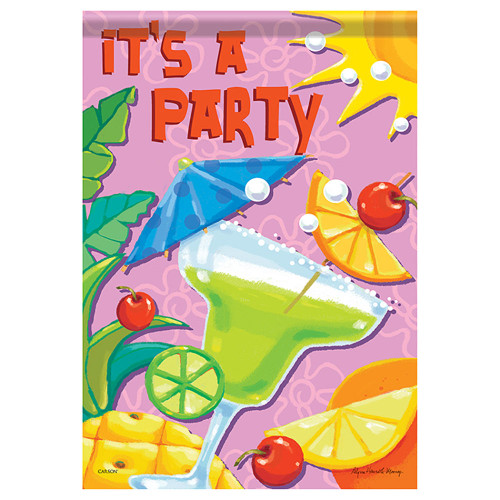 "Life's a Party House Flag - 40""x 28"""