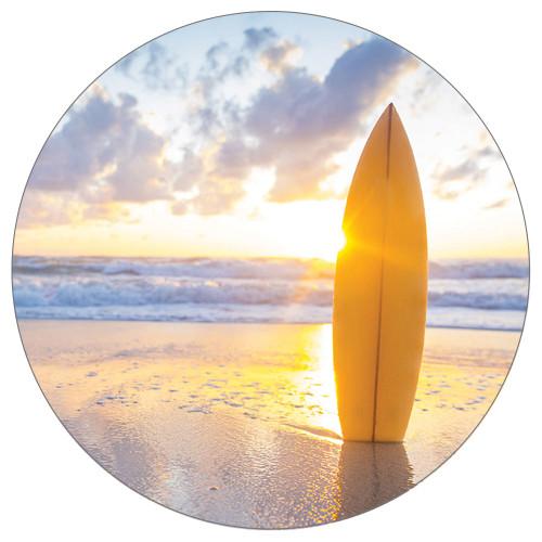 Surf Surfboard Sunset - Stone Car Coaster CB73113