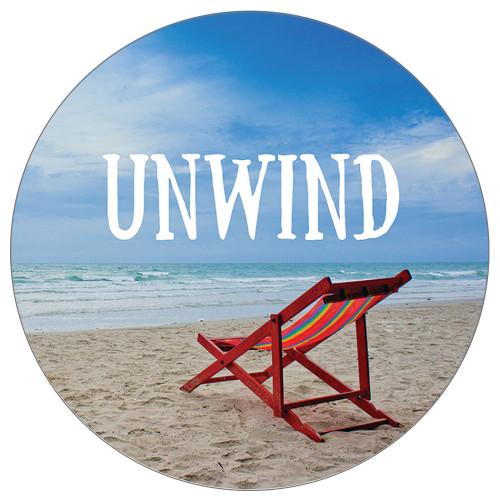 Unwind at the Beach - Stone Car Coaster CB73189