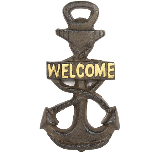 Welcome Anchor Sign / Bottle Opener