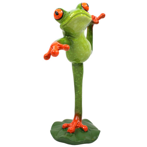 "Dancing Frog - 6.5"" Tall - WW-240"