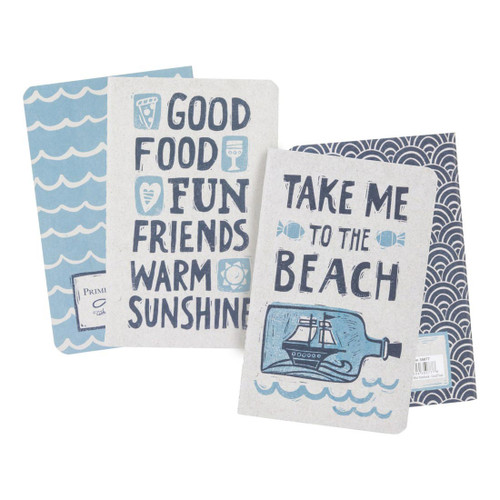 Take Me To The Beach - Small Notebooks