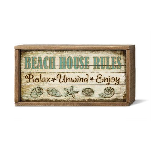 Beach House Rules. Relax Unwind Enjoy