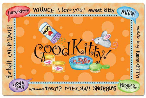 Good Kitty Placemat Mat 42054